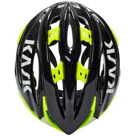 Kask Vertigo 2.0 Helm schwarz/Fluo gelb